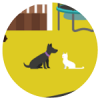 Domestic animals icon