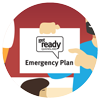Get Ready Queensland plan icon