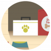 Pet case icon