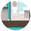 Bathroom drain icon