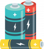 Spare batteries icon