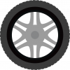Spare tyre icon