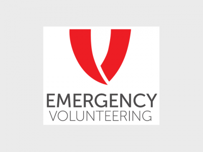 Emergency volunteering logo