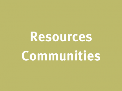 Resources Communities